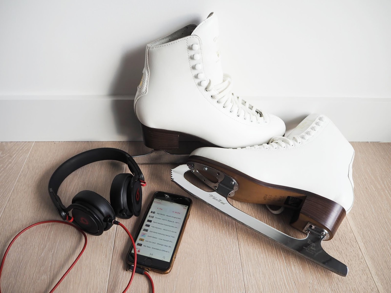 ice skating playlist