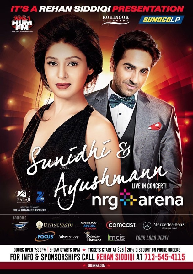 Sunidhi Chauhan Live Concert in Houston