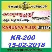KARUNYA PLUS (KN-200) LOTTERY RESULT