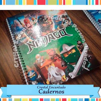 Cadernos Personalizados Minecraft