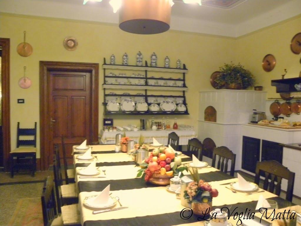 Castello di Spessa sala colazione