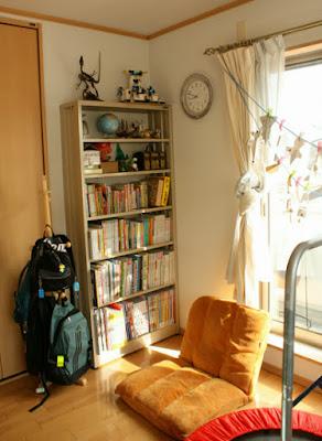 子供部屋の本棚