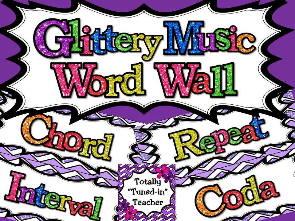 http://www.teacherspayteachers.com/Product/Music-Word-Wall-Glittery-Music-Mega-Set-in-lavender-1317941