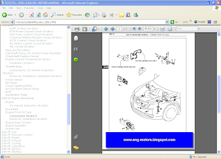Toyota Avalon wiring diagram
