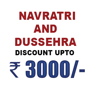Navratri and Dussehra Special Discount Till 29 September