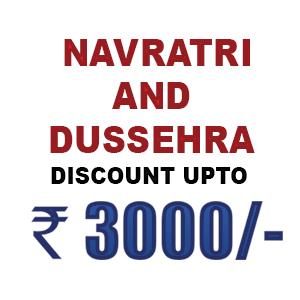 Navratri and Dussehra Special Discount Till 29 September