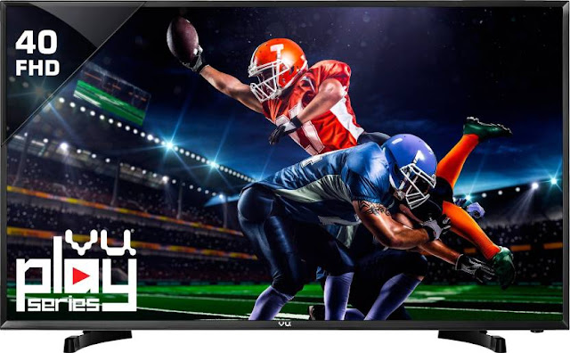 Vu 102cm (40) Full HD LED TV At Just Rs. 21,999 | Upto ₹12,000 off on exchange