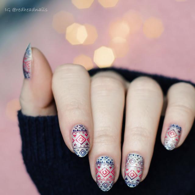 Sweterkowe paznokcie z Colour Alike