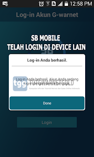 Cara Mengatasi Error Smart Billing Mobile Akun Log-in di Device Lain