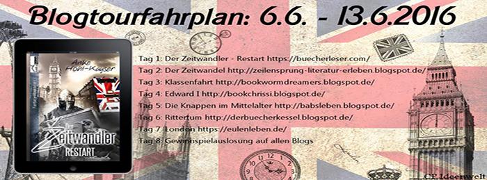 [Gewinnspiel | Blogtour] Der Zeitwandler – Restart von Anke Höhl-Kayser ~ Tag 2: Der Zeitwandel im Buch