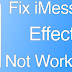 Fix iMessage Effects Not Working in iOS 10
