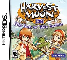 โหลดเกม ROM Harvest Moon The Tale of Two Towns .nds
