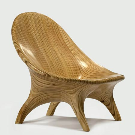 Wooden chair designs.