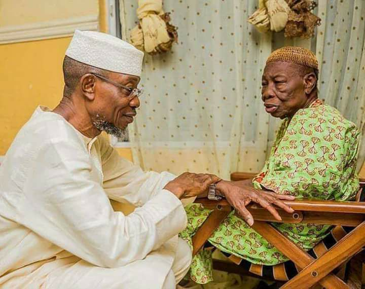Amosun Commiserates With Aregbesola Over Mother's Death