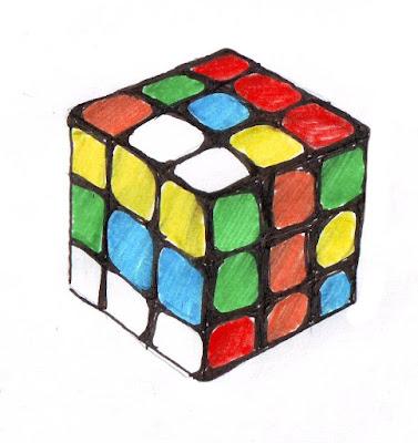 Эвелина Васильева. Кубик Рубика