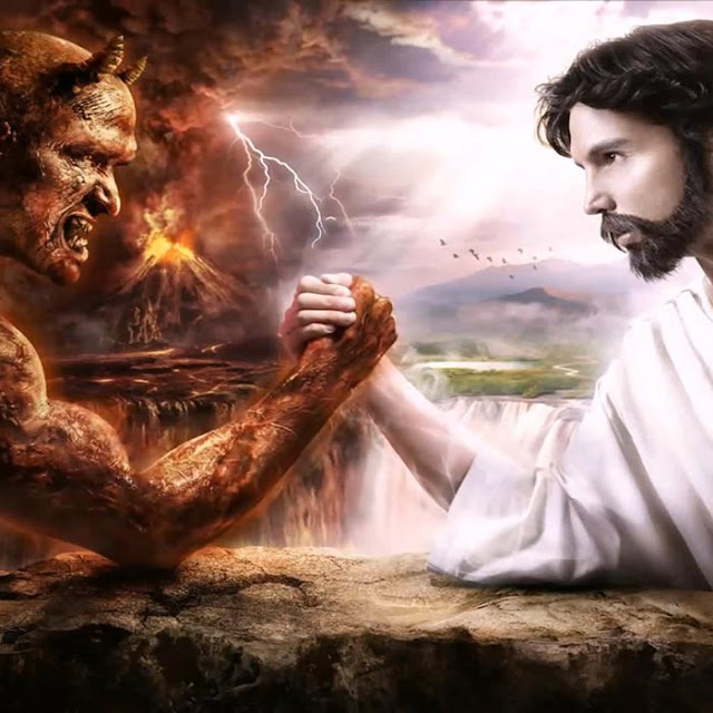 Jesus Vs Devil Wallpaper Engine