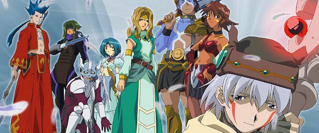 Kadr z bohaterami serii hack