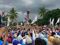 Acara Istighotsah Kubro untuk Pemilu Damai, Sandiaga Hadir