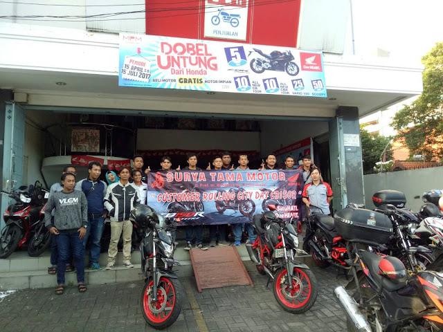Ngabuburit dan Buka Bersama Diler Honda Surya Tama Gubeng