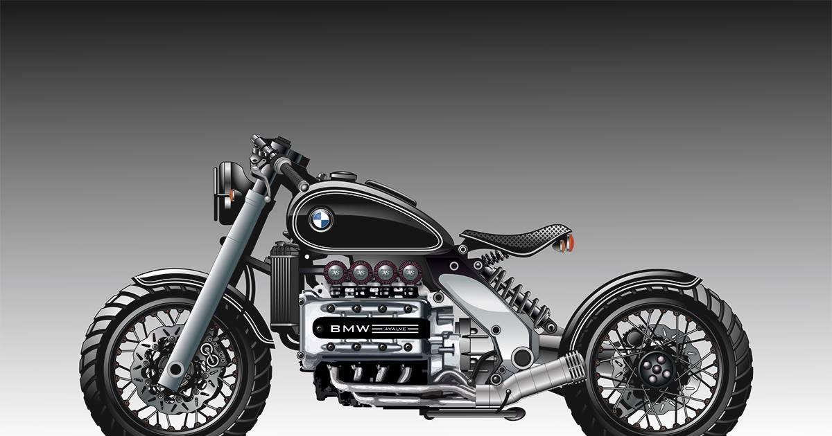 Racing Caf 232 Bmw K 1200 Rs By Galaxy Custom