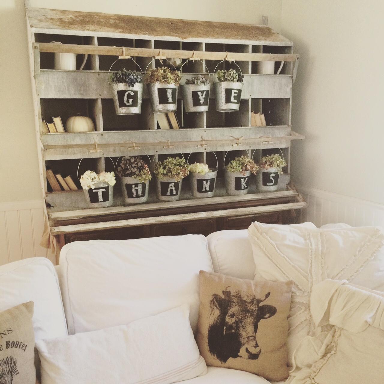 Little Farmstead: Fall Nesting Boxes (Farmhouse Fall