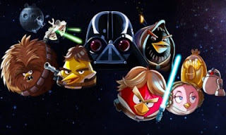 Angry Birds Star Wars pe Facebook