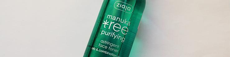 Ziaja Manuka Tree toner recenze