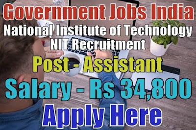 National Institute of Technology NIT Recruitment 2018 Delhi