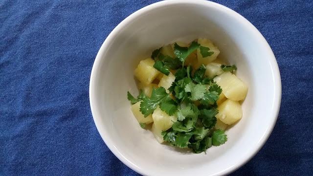Pineapple and Cilantro for Cilantro Pepper Pineapple Salmon