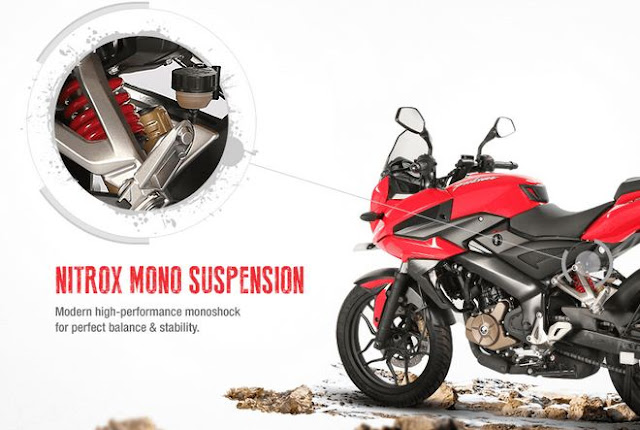 CHASSIS & SUSPENSION OF PULSAR AS 200CC
