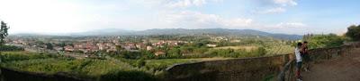 Vistas desde Arezzo.