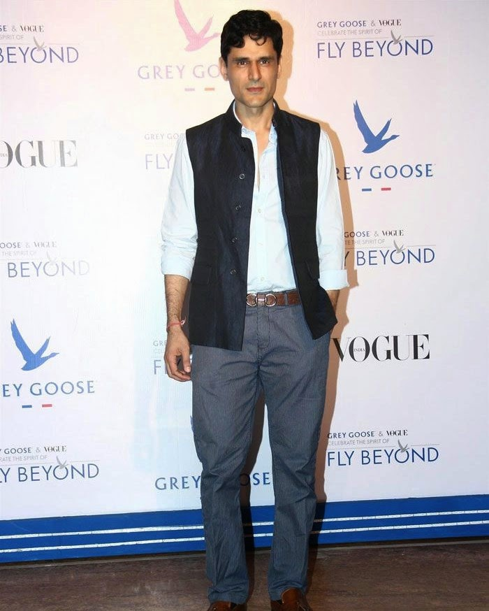 Niketan Madhok, Pics from Red Carpet of Grey Goose & Vogue's Fly Beyond Awards 2014
