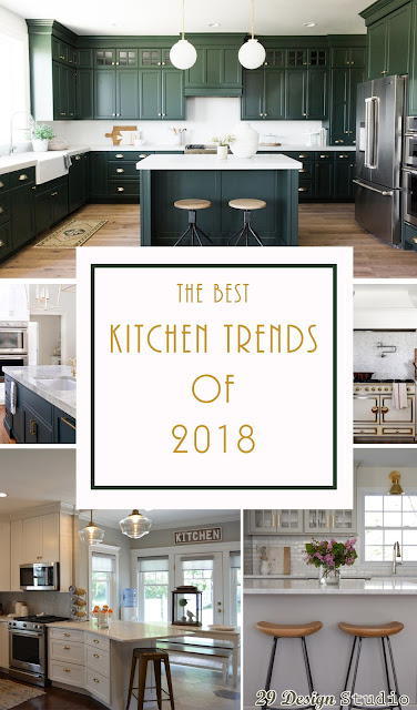 The Best Kitchen Trends of 2018