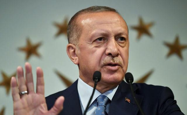 Σιγά που θα αλλάξει συμπεριφορά ο Ερντογάν