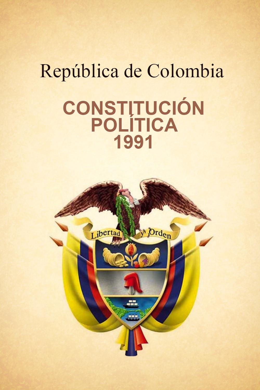 Constitución Política De Colombia De 1991 Noviembre 2016