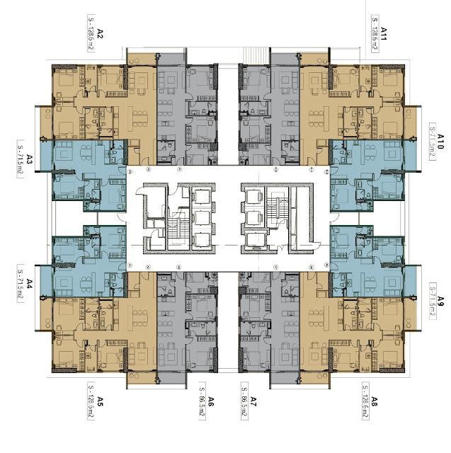 Dự án chung cư The Zei Mỹ Đình số 8 Lê Đức Thọ mở bán bảng giá chủ đầu tư