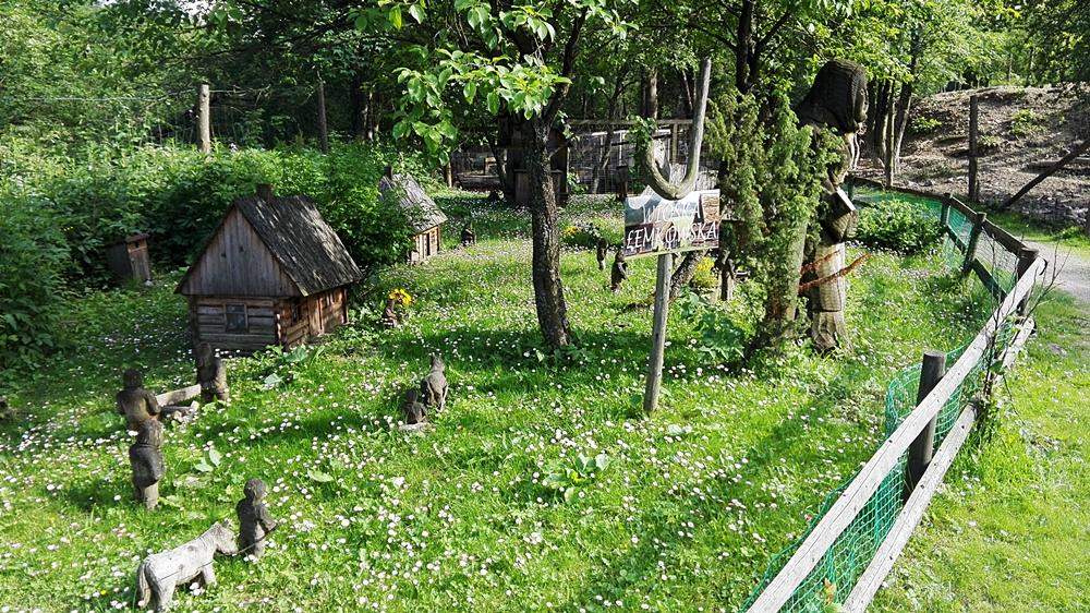 leśne zoo w Lisznej