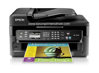 Epson WorkForce WF-2540 Driver Download