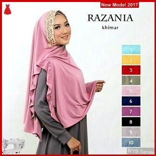 RYB140B Jilbab Instant Cantik Khimar Murah Razania BMG Online Shop