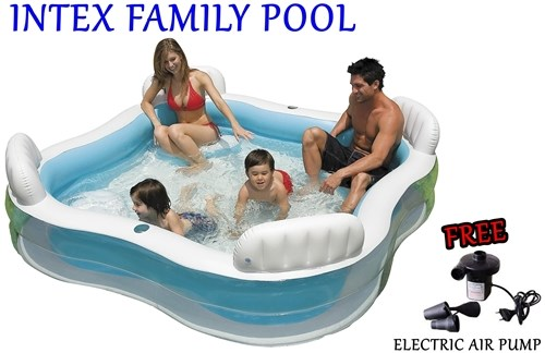 intex family swim pool pikaboo baby shop. Black Bedroom Furniture Sets. Home Design Ideas