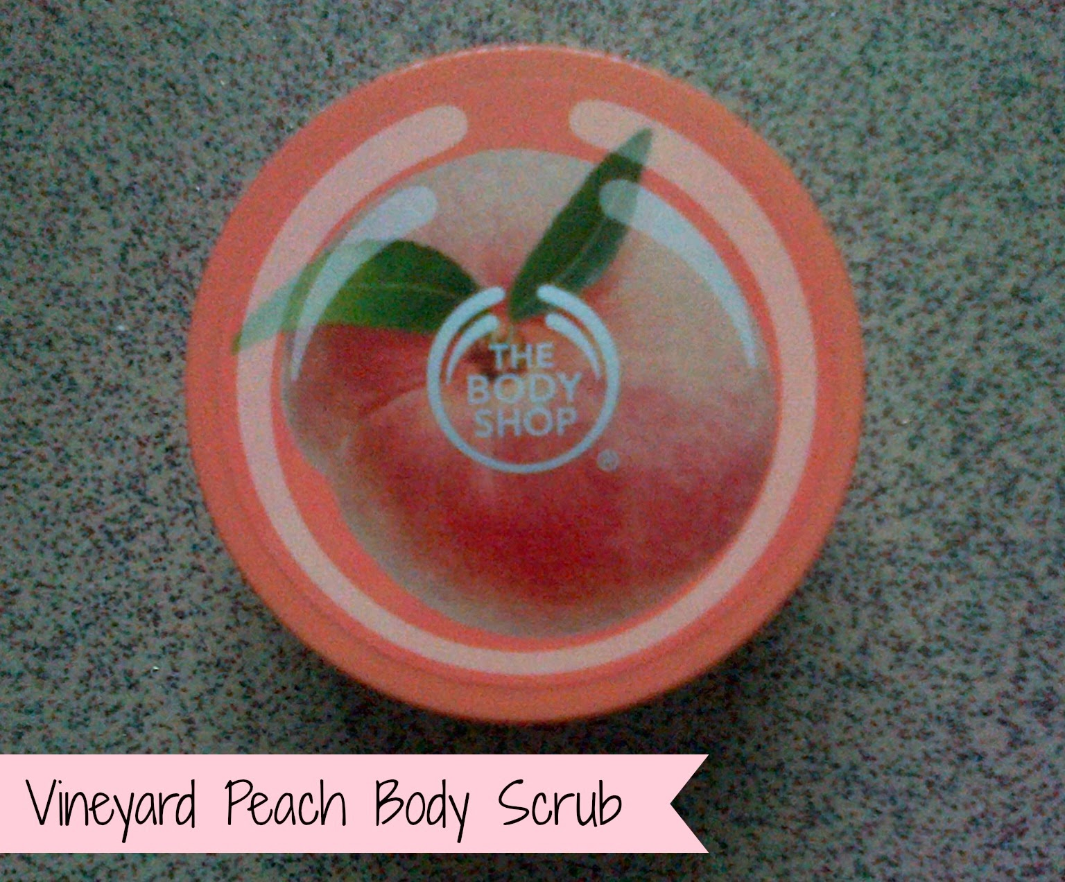The Body Shop Vineyard Peach Body Scrub