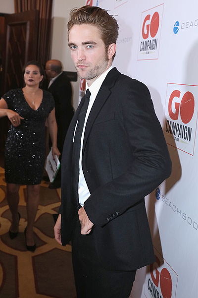 Robert Pattinson at GO Campaign Gala