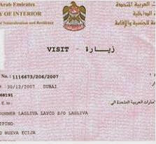 how to get job in uae on visit visa