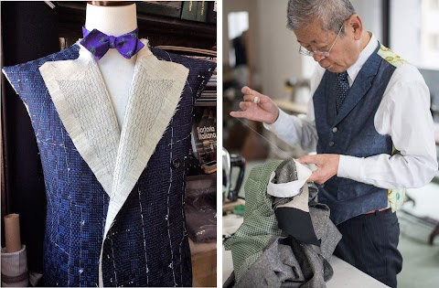 Kimono Inspired Menswear by HIROMI ASAI