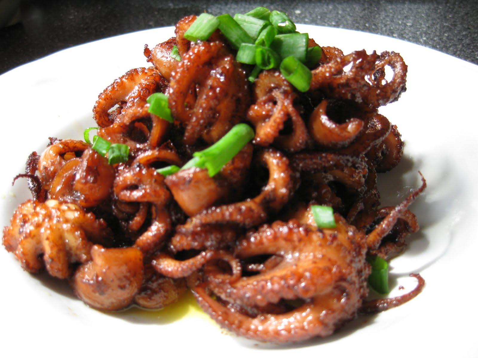 Food Lust People Love: Marinated Baby Octopus
