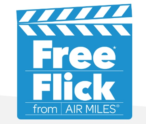 Cineplex Free Movie Pass Air Miles Promotion