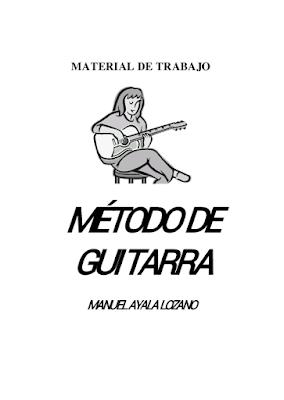 Método de guitarra escolar para niños