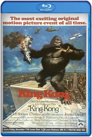 King Kong (1976) | 3gp/Mp4/DVDRip Latino HD Mega