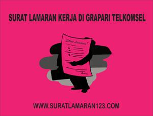 Contoh Surat Lamaran Kerja di Grapari Telkomsel yang Baik dan Benar