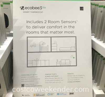 Costco 1239084 - Turn your home into a smart home with the ecobee3 lite Smart Thermostat